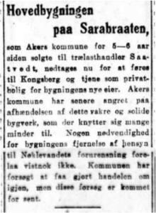 Aftenposten, 22. mars 1919